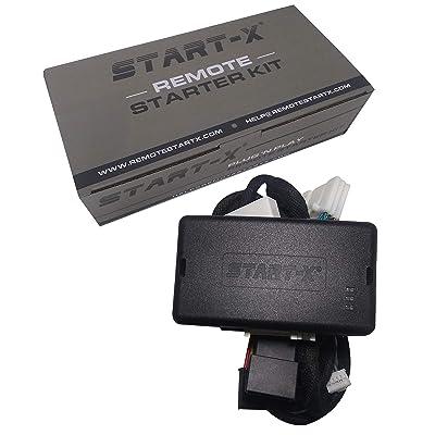 Start-X Plug N Play Remote Start Starter for Toyota Highlander 2014-2020, C-HR 2020-2020, Land Cruiser 2016-2020    Push to Start Vehicles Only    Lock 3X to Remote Start: Car Electronics