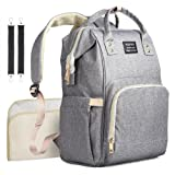 Diaper Bag Backpack Multifunctional Larger Nappy Bag with Changing Pad Waterproof Travel Backpack for Baby Cares