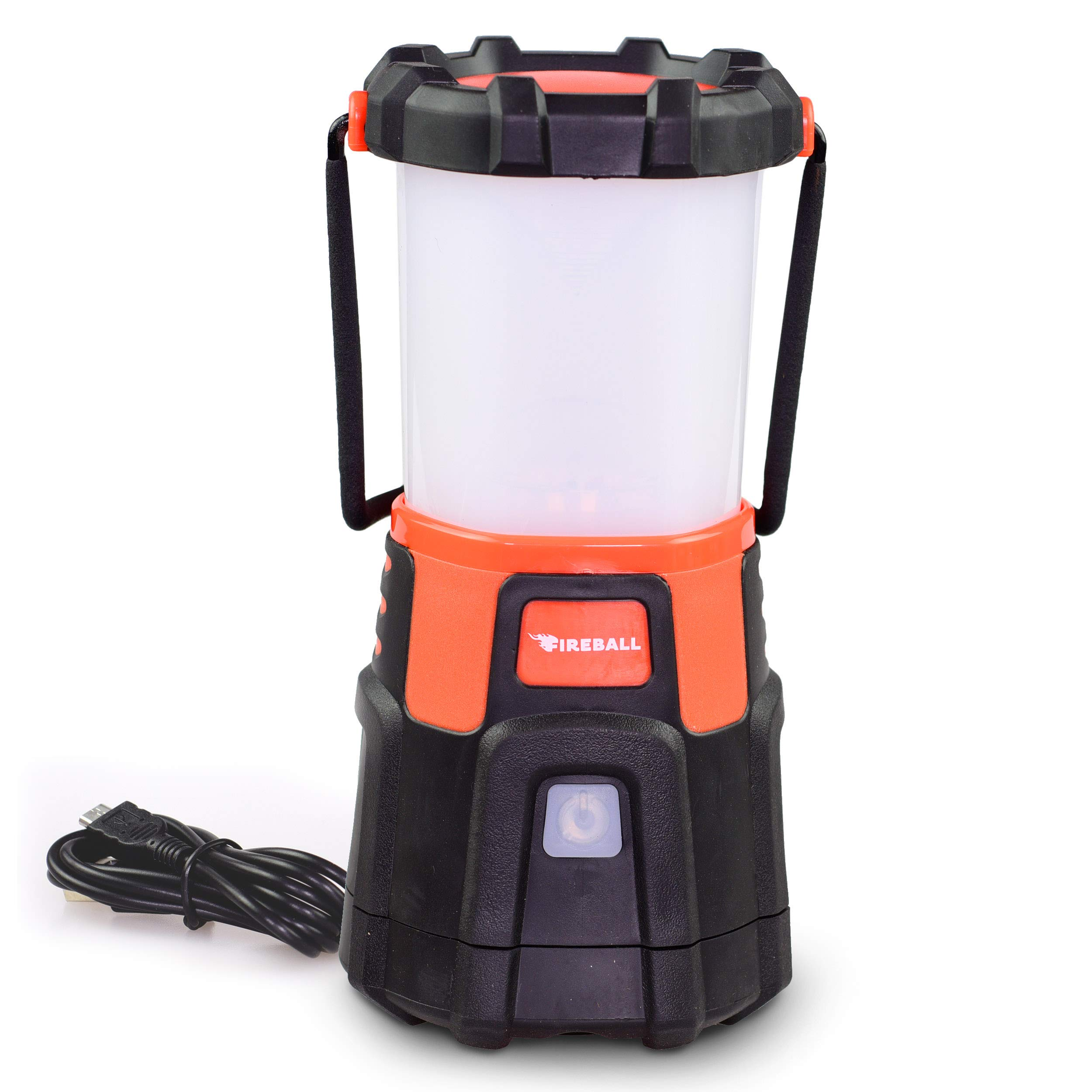 Blazin' Fireball | Brightest USB Rechargeable Lantern LED | Storm, Hurricane, Emergency Light | Power Outage | Battery Bank for Phones | Rechargeable Lamps | 1000 Lumen Light by Blazin