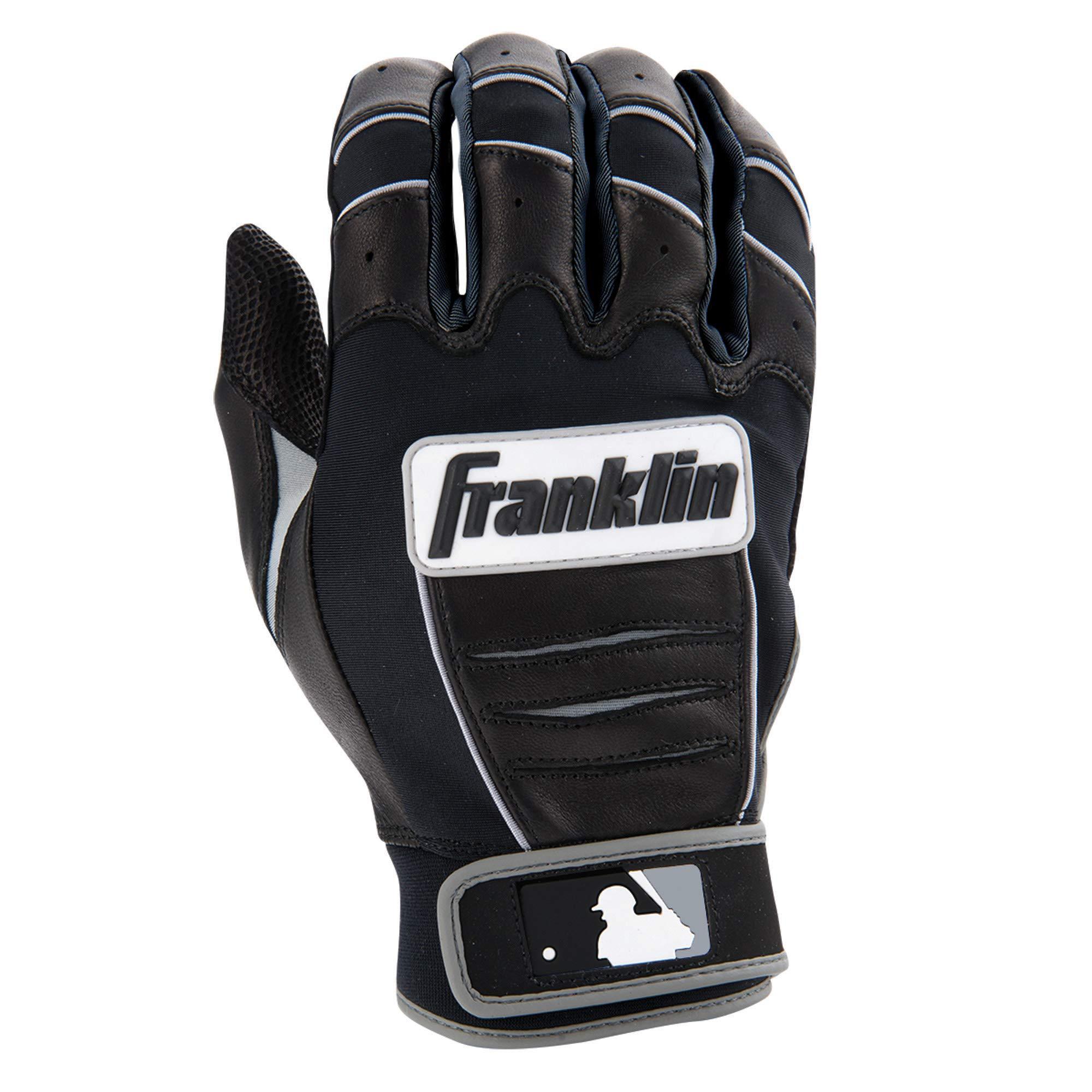 Franklin Sports MLB CFX Pro Batting Gloves, Black/Black (2015) by Franklin Sports (Image #3)