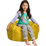 Posh Beanbags Bean Bag, 2 ft Sack, Lemon