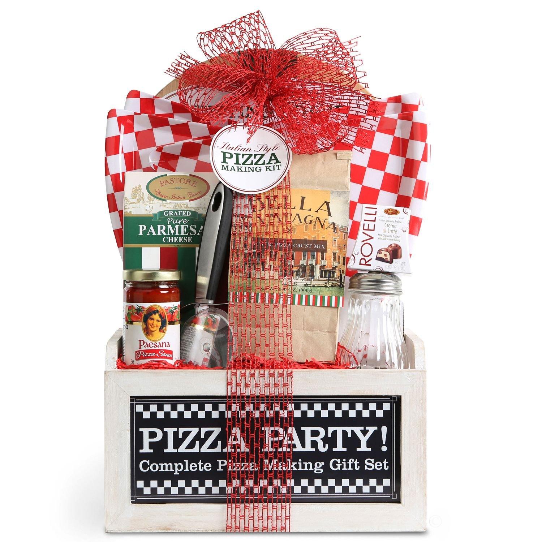 Italian Style Pizza Making Kit Holiday Gift Set: Amazon.com ...