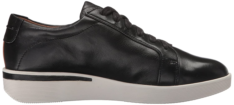 Gentle Souls by Kenneth Cole Fashion Women's Haddie Low Profile Fashion Cole Sneaker Embossed Fashion Sneaker B01LYRCJ3Z 9 M US|Dark Black 612ed7