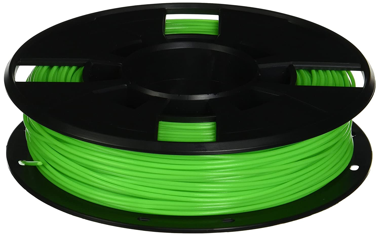 MakerBot PLA Filament, 1.75 mm Diameter, Small Spool, Neon Green