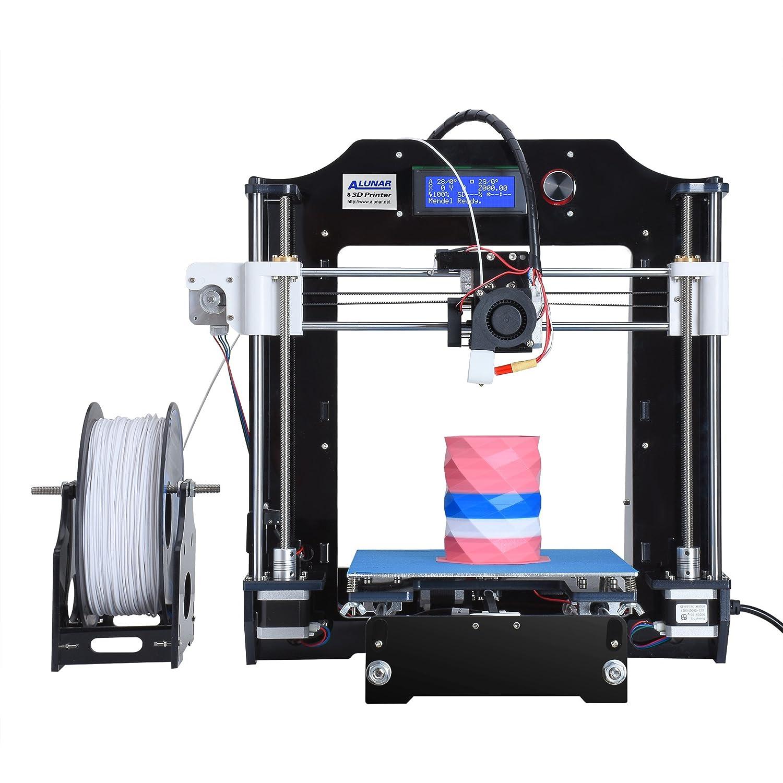 ALUNAR Actualizado DIY Desktop 3D impresora Reprap Prusa i3 Kit ...