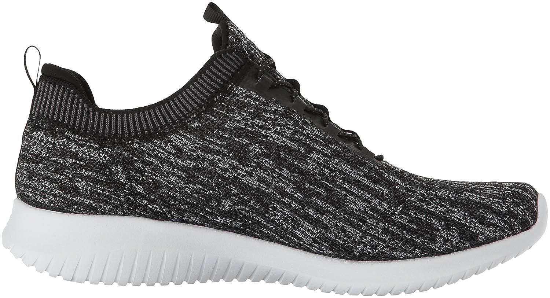 Skechers Women's Ultra B(M) Flex Bright Horizon Sneaker B01MYAM4MR 5 B(M) Ultra US|Black Gray f06168