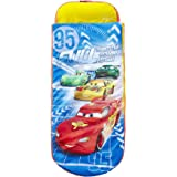 Worlds Apart 864626 Moderne ReadyBed Lit Junior Gonflable à Emporter Disney Cars Racing Bleu 150 x 62 x 20 cm