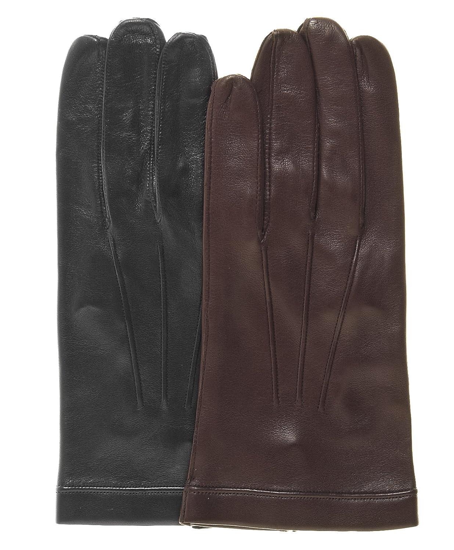 Fratelli Orsini Mens Italian Unlined Leather Gloves