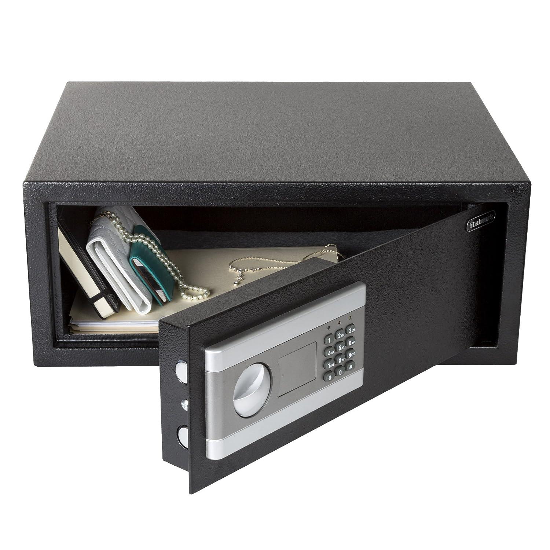 Amazon.com: Stalwart caja fuerte grande de acero digital ...
