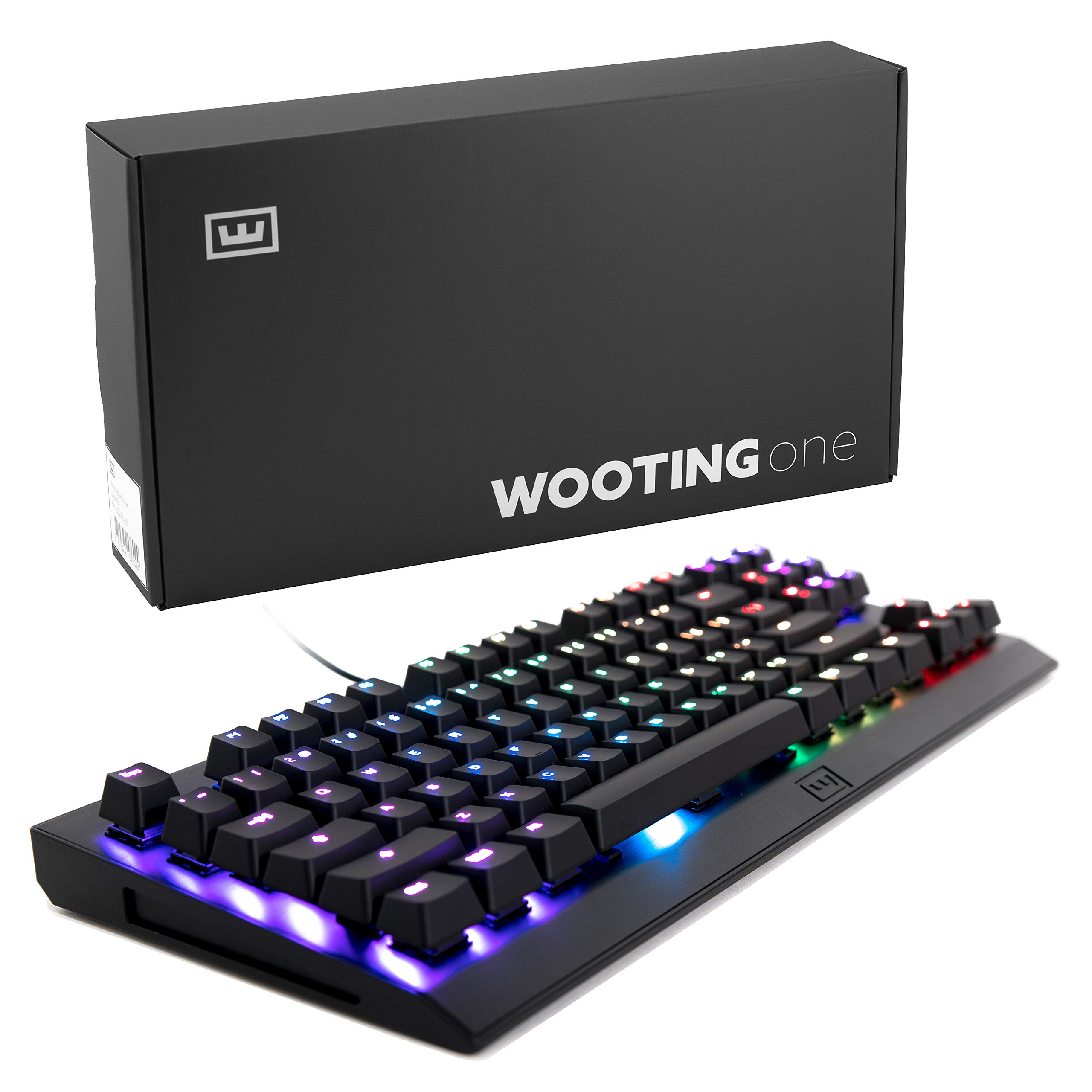 Teclado Mecanico : Wooting One Clicky¿¿¿55¿¿¿ Blue Analog Rg