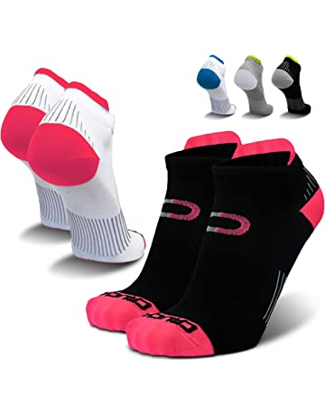 6d5137595d Compression Running Socks for Men & Women - Low Cut Athletic Ankle Socks (2  Pairs