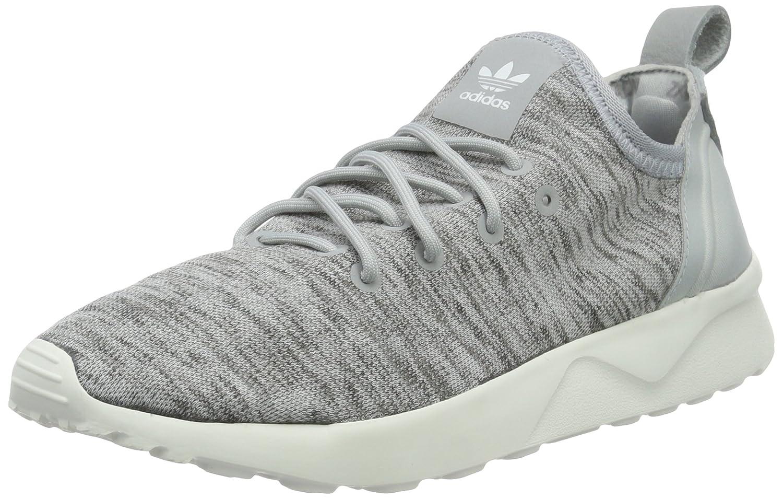 Adidas Damen Zx Flux ADV Virtue Sock Laufschuhe grau
