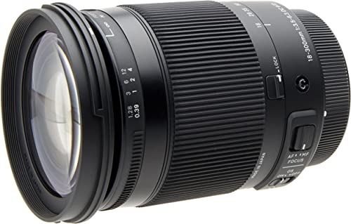 Sigma 18-300mm F3.5-6.3 Contemporary DC Macro OS HSM Lens