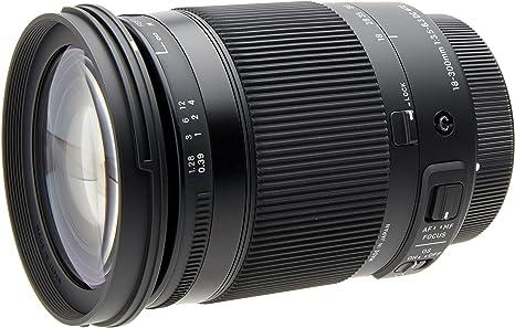 Sigma 886954 - Objetivo para cámara 18-300 mm F3.5-6.3 DC Macro OS ...