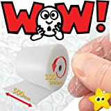 500mm x 100m PREMIUM Quality Small Bubble Wrap Roll Picking/Packing/Moving STRONG Bubbles