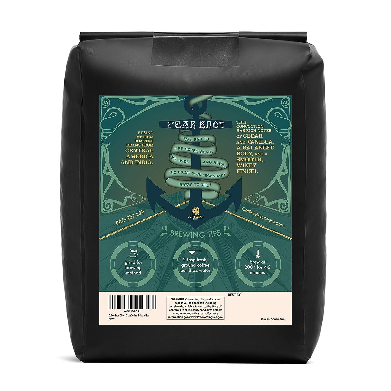 d519f39c1ef Amazon.com : Coffee Bean Direct Penny Pincher's Dark Roast Blend, Whole  Bean, 5 lb Bag : Grocery & Gourmet Food