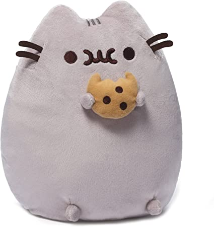 Pusheen The Cat Plush With Cookie Licensed by Gund