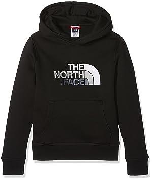 4e28177c6f35d The North Face Youth Drew Peak Sweat-Shirt à Capuche Mixte Enfant, Black