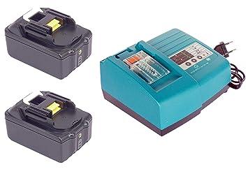 2pcs 18V 4000mAh Reemplazar Makita batería de herramientas BL1840 ...