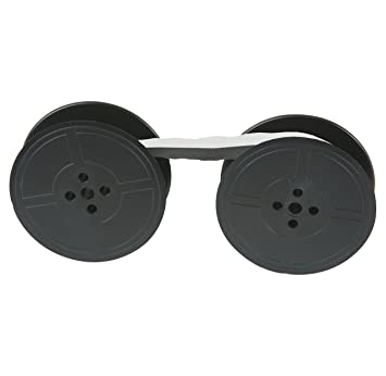 2 x COMPATIBLE *BLACK* TYPEWRITER RIBBON FITS *BROTHER DELUXE 900* *TOP QUALITY*