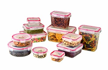 Cook Pro Set Of 12 Storage Container Set