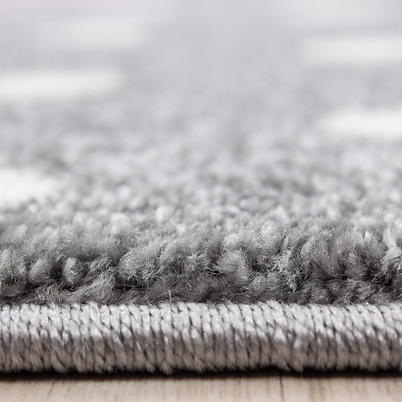 kidsroom carpets rugs babyroom short pile Unicorn design with oeko tex standarts Size:160x230 cm
