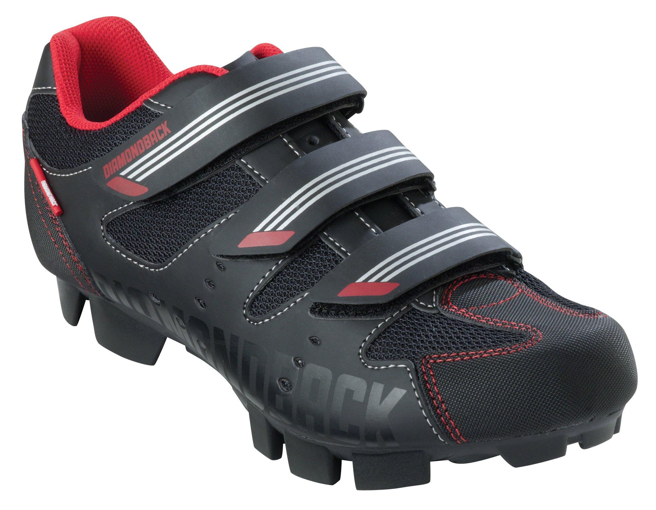 Diamondback Mens Trace Clipless Pedal Compatible Cycling Shoe