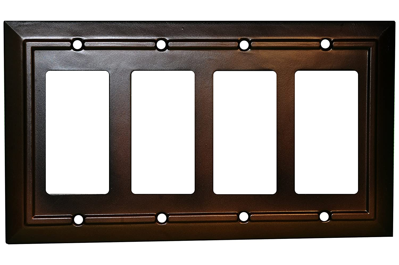 Amazon.com: SleekLighting placas de pared marrón: Home ...