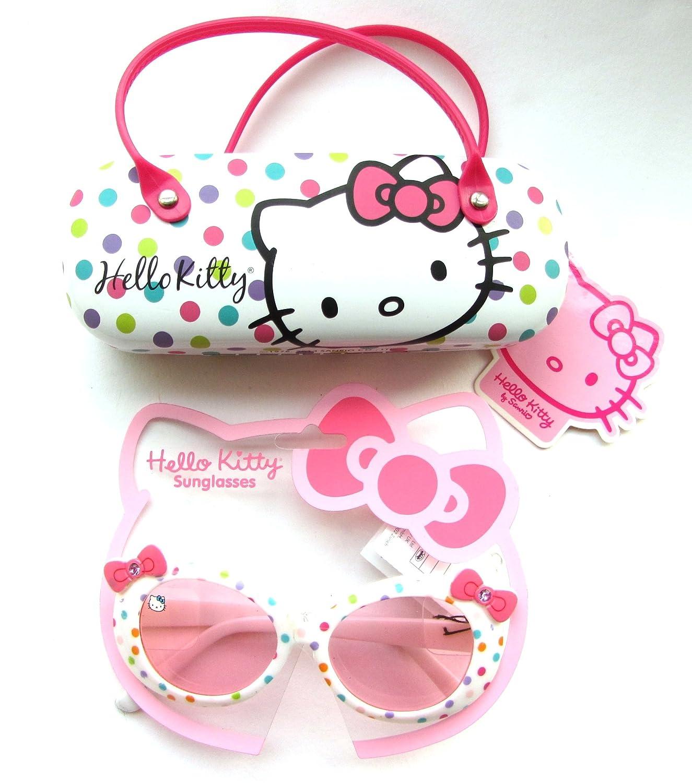 Hello Kitty - rosa mango multi color gafas de sol funda ...