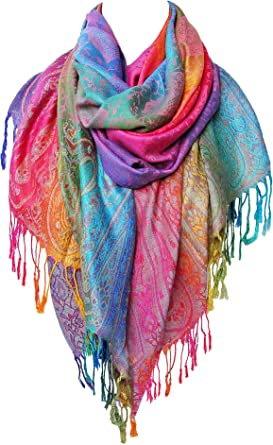 View Colorful Shawls Background