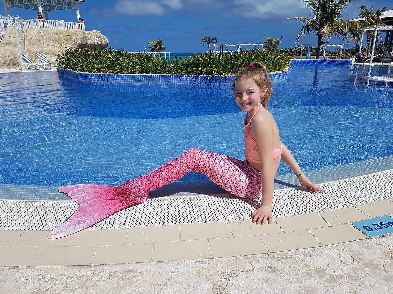 Costume Da Bagno Sirena : Costume da bagno sirena bambina ragazze bambine coda di sirena