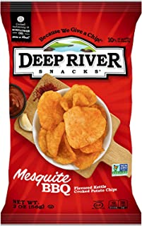 product image for Deep River Snacks Mesquite BBQ Kettle Cooked Potato Chips, 2-Ounce (Pack of 24)