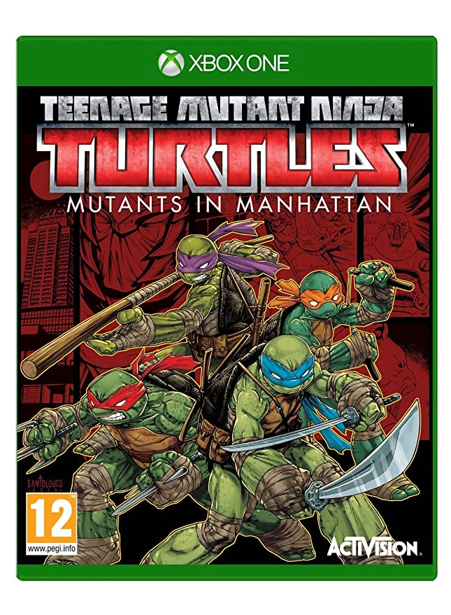 Teenage Mutant Ninja Turtles: Mutants in Manhattan (Xbox One ...