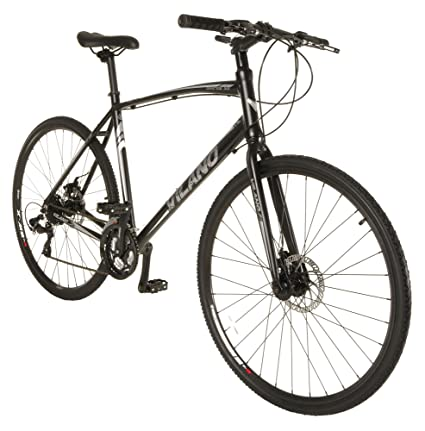 941281cb1ac Amazon.com : Vilano Diverse 3.0 Performance Hybrid Road Bike 24 Speed  Shimano Disc Brakes : Sports & Outdoors