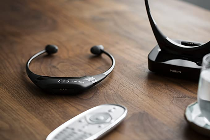 227e7315c Philips SSC5001/10 Cuffie Wireless, Nero: Amazon.it: Elettronica