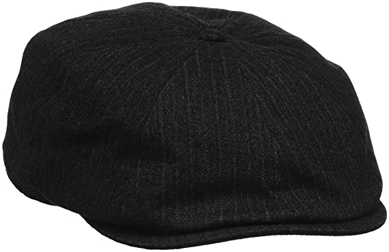 Kangol Suited Ripley, Gorra para Hombre, Gris (Dk Flannel), Small