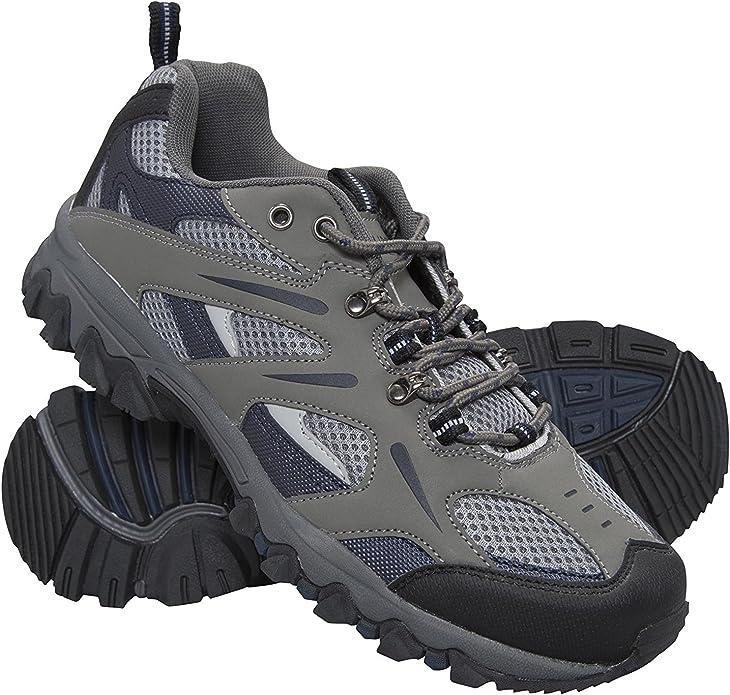 Mountain Warehouse Zapatillas Jungle para Hombre - Zapatillas de Correr Ligeras, Transpirables, Suaves, cómodas, Zapatillas Flexibles para el Gimnasio: Amazon.es: Zapatos y complementos
