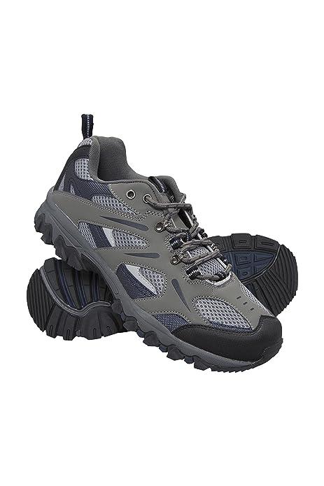 Mountain Warehouse Zapatillas Jungle para Hombre - Zapatillas de Correr Ligeras, Transpirables, Suaves, cómodas, Zapatillas Flexibles para el Gimnasio: ...