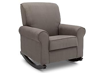 Fabulous Delta Children Rowen Nursery Rocking Chair Graphite Beatyapartments Chair Design Images Beatyapartmentscom