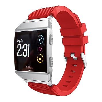 Reloj banda para Fitbit iónico, Topten reloj deportivo de ...
