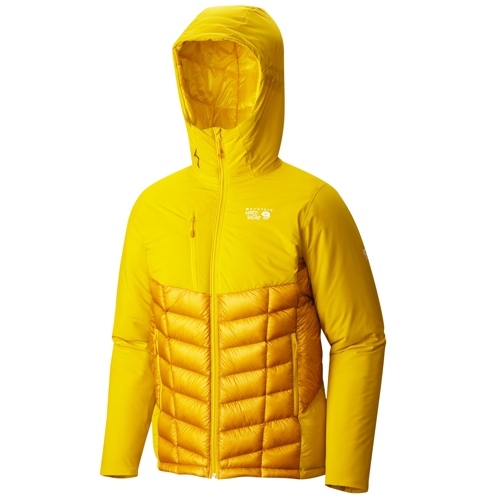 Mountain Hardwear Supercharger Insulated Jacket - Men's Electron Yellow X-Large by Mountain Hardwear (Image #1)