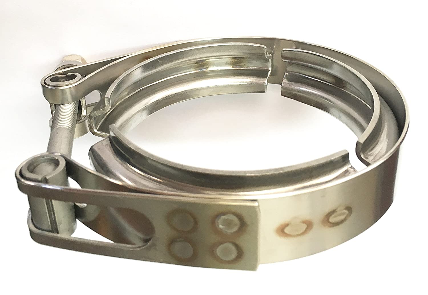 Ticon Industries - 3' Stainless Steel V-Band Clamp (qty1) - 119-07600-0000