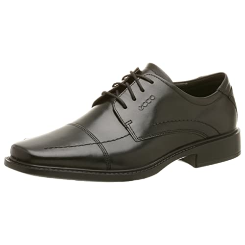 Amazon Ecco Mens York Cap Toe Oxford Black 43 Eu Us Mens