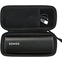Khanka Harde tas voor Sonos Roam Speaker Bluetooth Speaker (zwart)