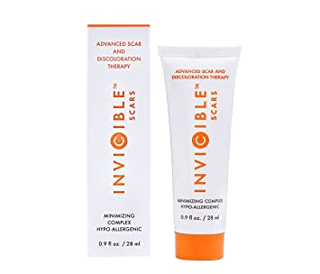 Amazon.com : InviCible Scars Scar Cream with Silicone and Vitamin C
