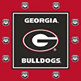 Westrick Georgia Bulldogs Party Supplies - 105
