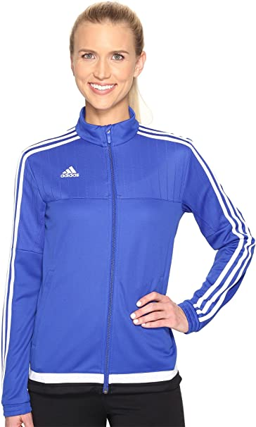 3ff386887158 Amazon.com: adidas Women's Soccer Tiro 15 Training Jacket: Clothing