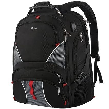 ... factory outlets 890e7 323a7 Large Laptop Backpack,High Capacity TSA  Durable Luggage Travel Backpacks, ... c543ed9f06