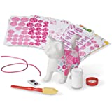 Melissa & Doug Decoupage Made Easy Kitten Paper Mache Craft Kit with Stickers
