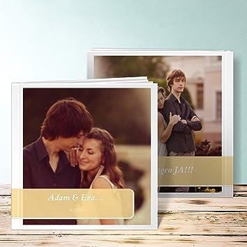 Goldene Hochzeit Fotoalbum Fotowand 76 Seiten 38 Blatt